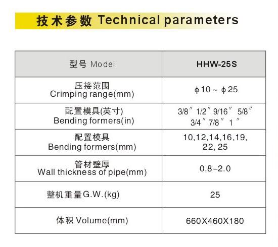 HHW-25S