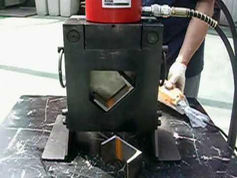 Máy cắt thép v thủy lực TONNERS 1
