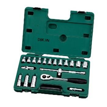 Bộ đầu tuýp 8 chi tiết 3/4 inch Kingtony 6408MP10