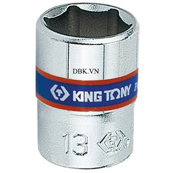 Đầu tuýp ngắn 1/4 inch 10mm Kingtony 233505-10M