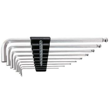 Bộ chìa lục giác 9 chiếc KTC HLD2509B ( 1/16 đến 3/8 inch, đầu bi)