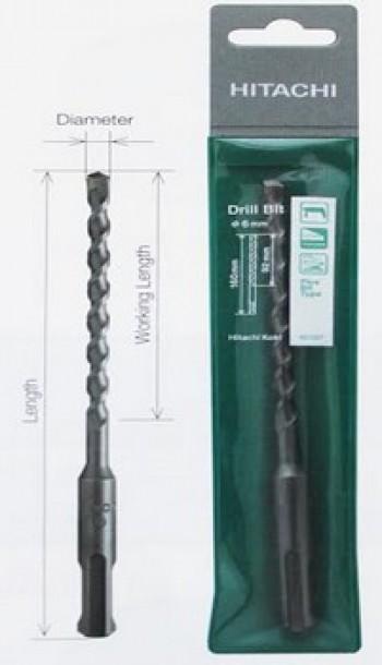 Mũi khoan bê tông SDS PLUS 12x210mm Hitachi 401339