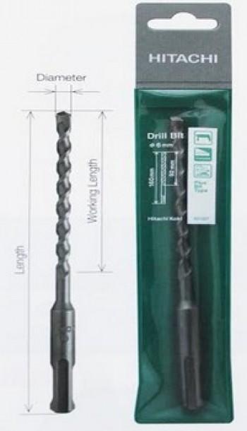 Mũi khoan bê tông SDS PLUS 12x460mm Hitachi 401013