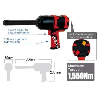 Súng bắn ốc 1/2 inch (500 N.M) Kingtony 33411-040